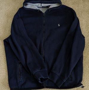 Polo Ralph Lauren men's full zip hoodie EUC